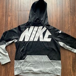 Boys Nike Dri-Fit Hooded Sweatshirt | Size L